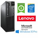 PC Lenovo ThinkCenter M91p SFF Core i5-2400 3.1GHz 4Gb Ram 500Gb DVDRW Windows 10 Professional SFF