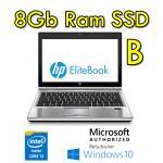 Notebook HP EliteBook 2570p Core i3-3110M 2.4GHz 8Gb 128Gb SSD 12.5' HD WEBCAM Windows 10 HOME [Grade B]