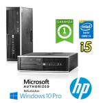 PC HP Compaq 8200 Elite Core i5-2400 3.1GHz 4Gb Ram 500Gb DVD SFF Windows 10 Professional