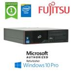 PC Fujitsu Esprimo E510 Intel G-640 2.8GHZ 4Gb Ram 250Gb DVDRW Windows 10 Professional