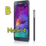 Smartphone Samsung Galaxy Note 4 SM-N910F 3G 32Gb Black [GRADE B]