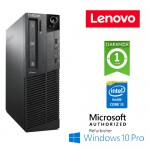 PC Lenovo ThinkCentre M83p SFF Core i5-4570 3.2GHz 4Gb Ram 500Gb DVD-RW Windows 10 Professional