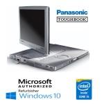 Notebook Panasonic Toughbook CF-C1 Core i5-2520M 4Gb 500Gb 12.1' Touchscreen Windows 10 HOME