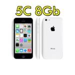 iPhone 5C 8GB Bianco 4G MG8X2F/A White Originale iOS 10