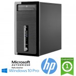 PC HP ProDesk 400 G1 MT Core i5-4570 3.2GHz 4Gb 500Gb DVD-RW Windows 10 Professional TOWER