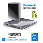 Notebook Panasonic Toughbook CF-C1 Core i5-2520M 4Gb 500Gb 12.1' Touchscreen Windows 10 Professional [Grade B]