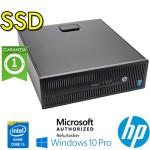 PC HP ProDesk 600 G1 SFF Core i5-4570 3.2GHz 8Gb 240Gb SSD NO-ODD Windows 10 Professional