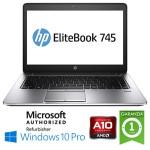 Notebook HP EliteBook 745 G3 AMD A10-8700B R6 8Gb 180Gb SSD 14.1' HD Windows 10 Professional