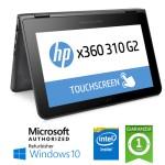 Notebook HP X360 310 G2 Intel Pentium N3700 4Gb 128Gb SSD 11.6' HD TS Windows 10 HOME